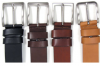 MOVI Full Flat Leather Belt 30mm