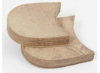"Leather Block Heel 3 1/2"" (pr)"